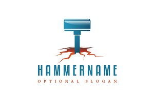 Hammer the Groundshaker Logo