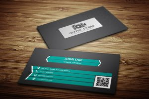 Business Card + Logo (Full Free) V.2