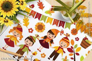 50% OFF - Happy Harvest / Fall Kids!