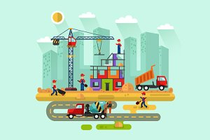 Construction Vector Illustration