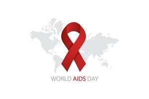 illustration of World Aids Day
