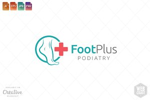 Podiatry Logo Template 21