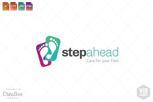 Podiatry Logo Template 22