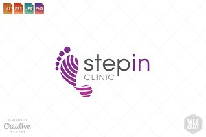 Podiatry Logo Template 23