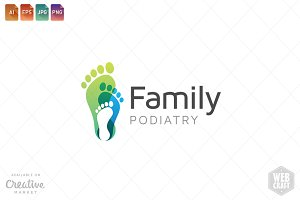 Podiatry Logo Template 24