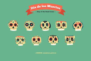 Day of the Dead Icons