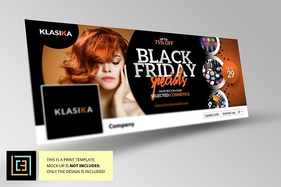 Black Friday Facebook Cover 1