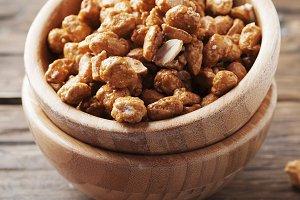 Sugared peanuts