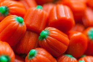 Halloween Pumpkin Candy Corn Snacks