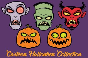 Cartoon Halloween Collection