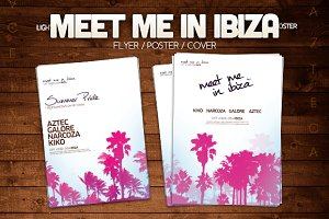 Meet me in Ibiza Poster