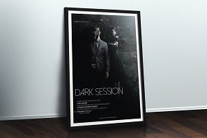 Dark Session Flyer