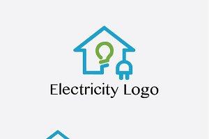 Electricity Logo Template