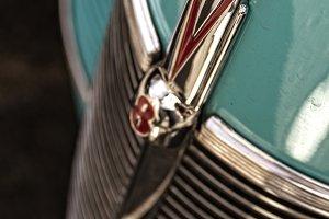 Vintage V8 Car