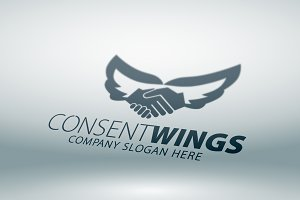 Consent Wings Logo