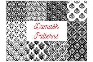 Damask pattern set