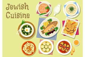 Jewish cuisine dishes