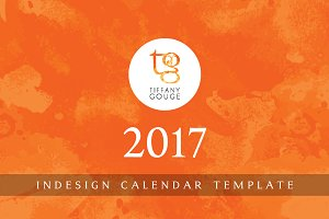 Calendar Template 2017 (InDesign)