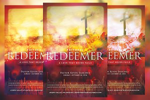 Faithful Redeemer Church Flyer