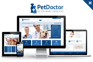 Joomla Themes - PetDoctor Veterinary Joomla Theme