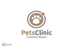Pets Clinic Logo