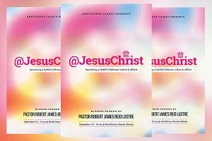 Following Christ Church Flyer