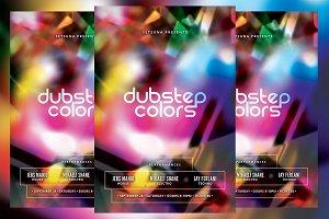 Dubstep Colors Flyer