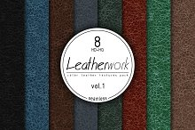 Leather Seamless HD textures vol.1 by  in Fabric