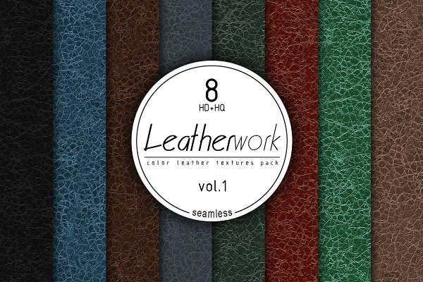 3D Fabric: Zver - Leather Seamless HD textures vol.1