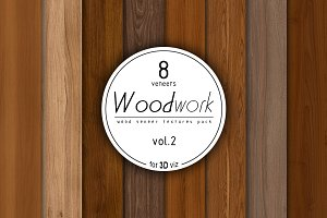 8 wood veneer texture pack vol.2