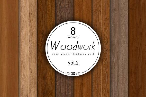 3D Wood: Zver - 8 wood veneer texture pack vol.2
