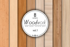 8 wood veneer texture pack vol.1