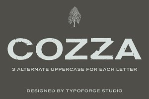 Cozza Letraset – now 9$