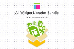 Axure Widget Library Bundle