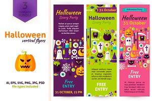 Halloween Vertical Flyers