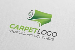 Carpet & Flooring Logo Design