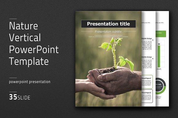 Nature vertical powerpoint template presentation templates nature vertical powerpoint template presentations toneelgroepblik Images