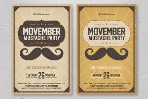 Movember Mustache Flyer