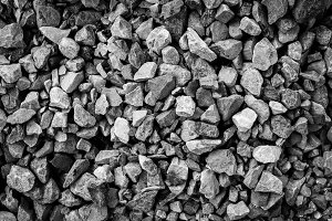 Greyscale Rock Texture Background