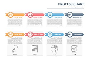 Infographic Template for Process