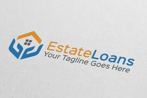 Real Estate Loans Logo Design