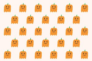 Phantom Pumpkins pattern