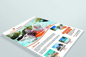 Travel Agency Flyer V36