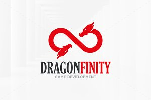Dragon Infinity Logo Template