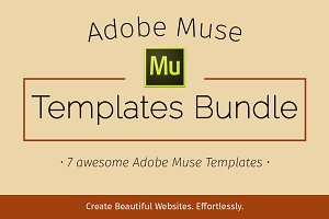 Adobe Muse Templates Bundle