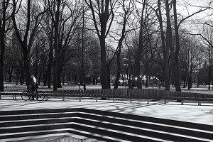 Park. Autumn. Riga