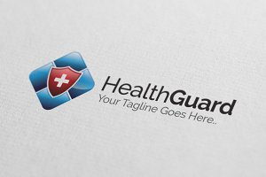 Health Guard Logo Design