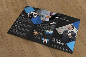 Trifold business brochure-V43