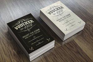 Vintage Voucher Card 05