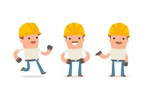 150+ Poses of Character Handyman